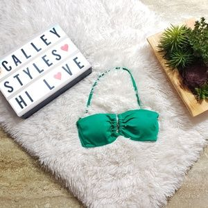 Victoria's Secret Green Bikini Top Size XS D9